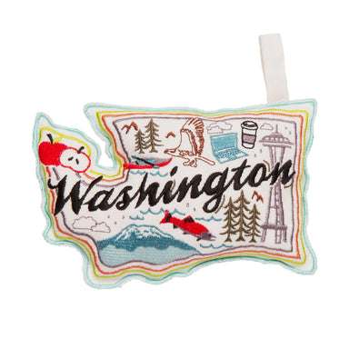 Wish You Were Here Dog Toy | Washington