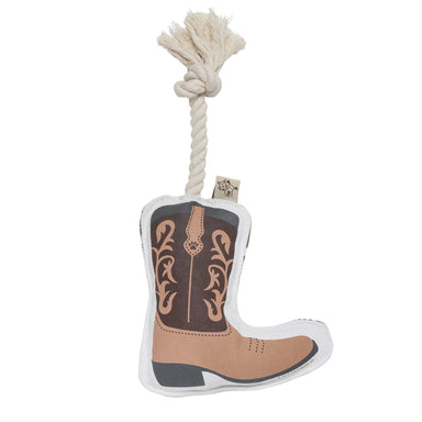 Rope Dog Toy | Cowboy Boot