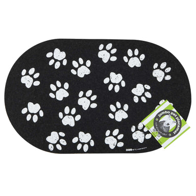 Pet Placemat | Recycled Rubber Jumbo Paws
