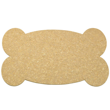 Pet Placemat | Recycled Rubber Big Bone Natural