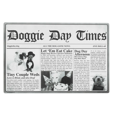 Pet Placemat | Doggie Day Times