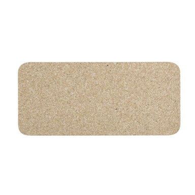 Pet Placemat | Recycled Rubber Skinny Rectangle Natural