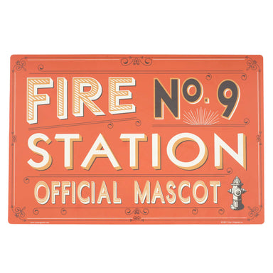 Pet Placemat | Fire Station No. 9