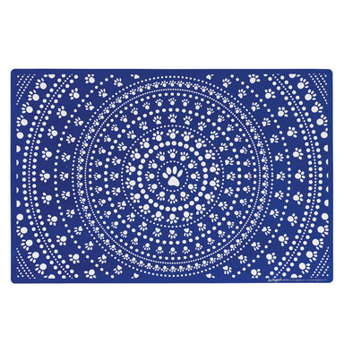 Pet Placemat | Bandana Blue