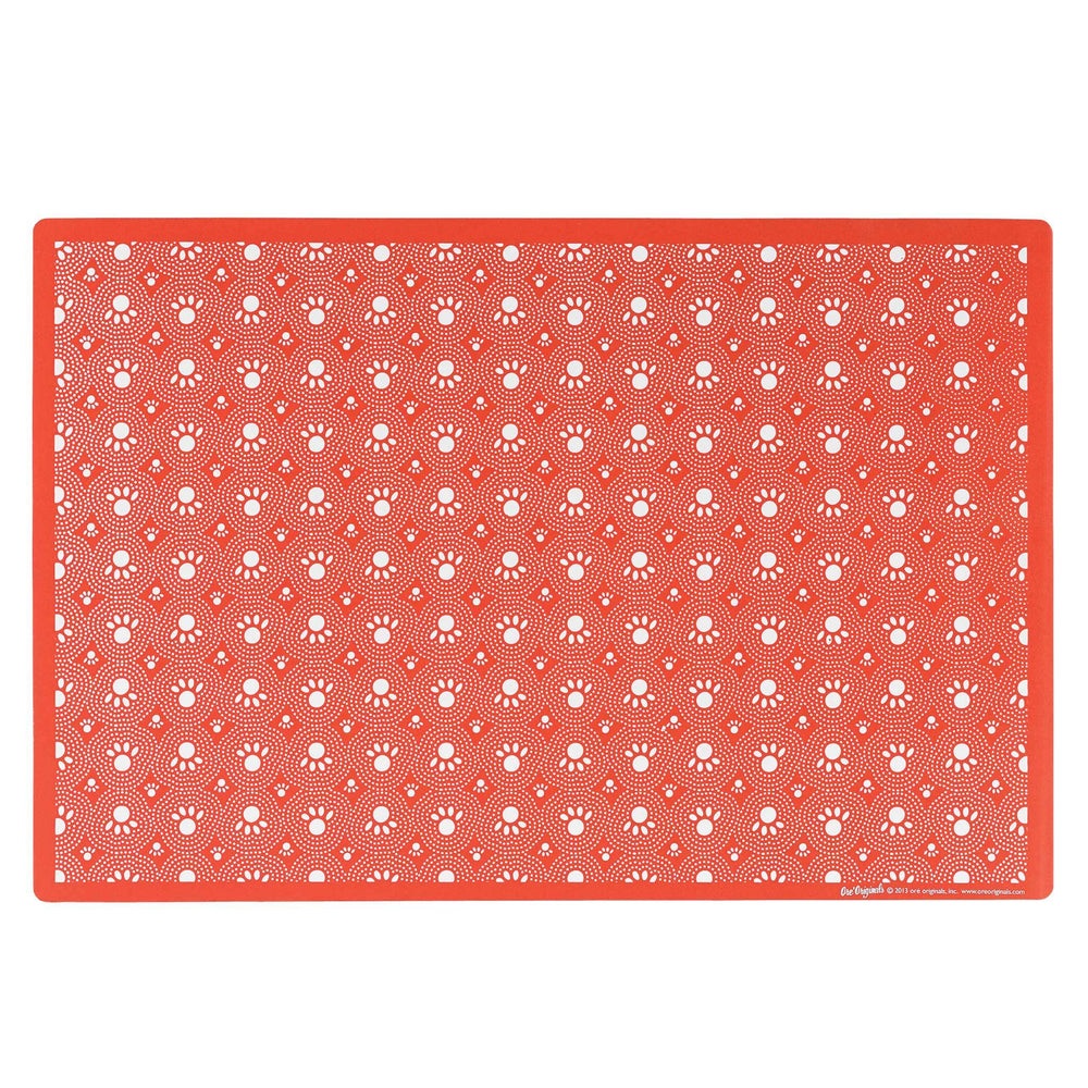 Pet Placemat | Rusty Red