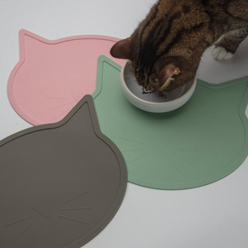 Silicone Placemat | Cat Head Jade