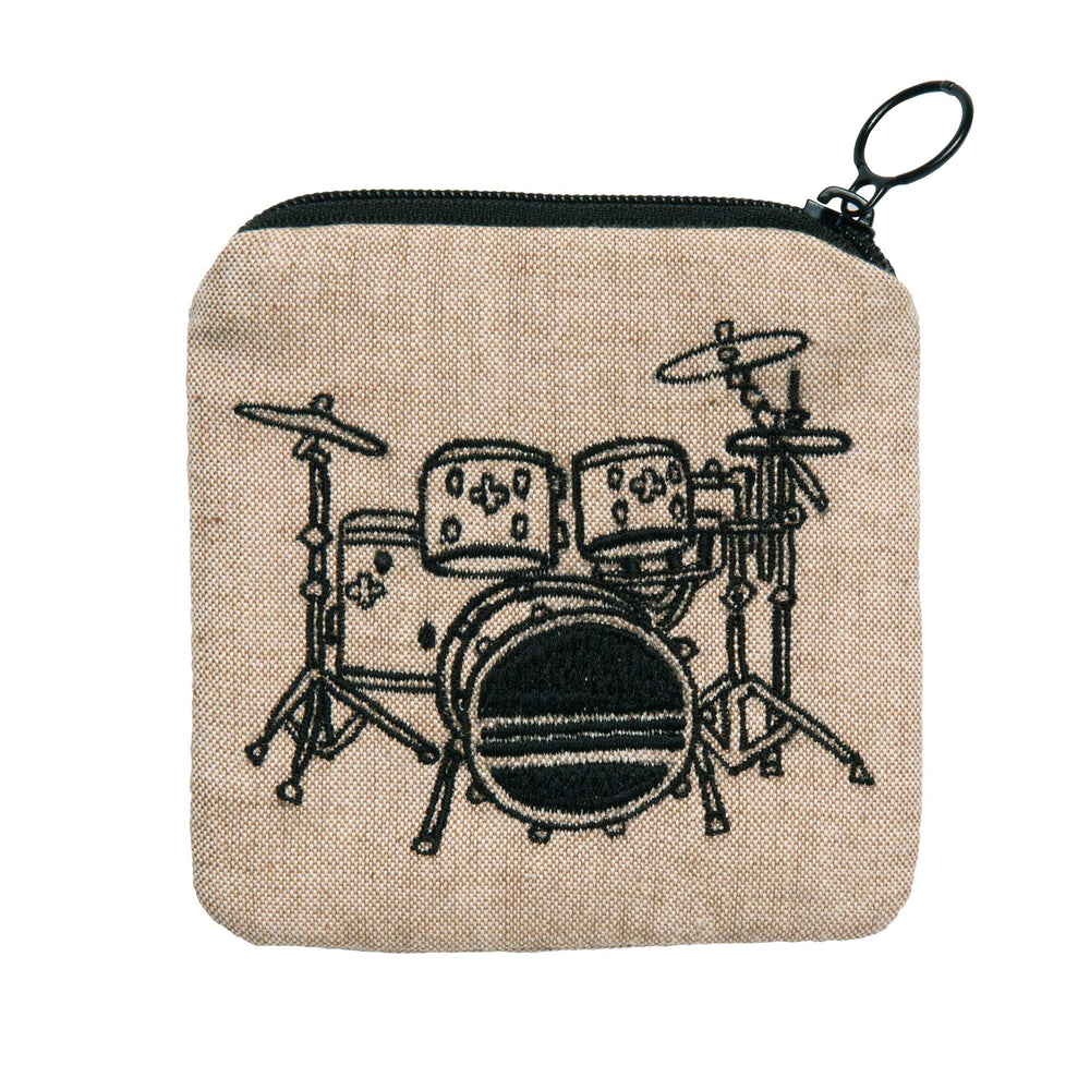 Zippee Coin Pouch | Drum Set