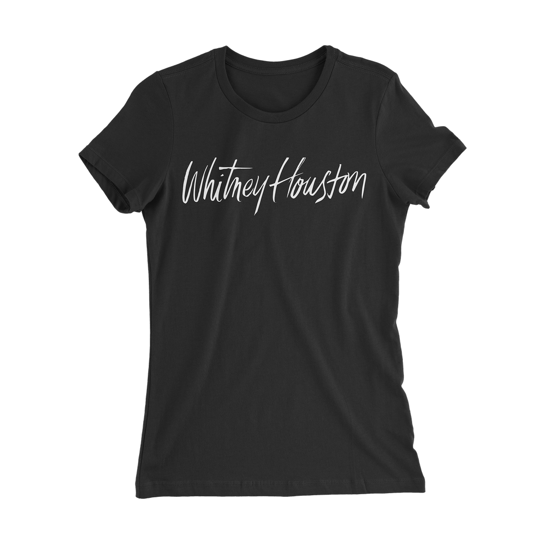 Woman's Fit Logo Tee in Black *LIMITED EDITION*