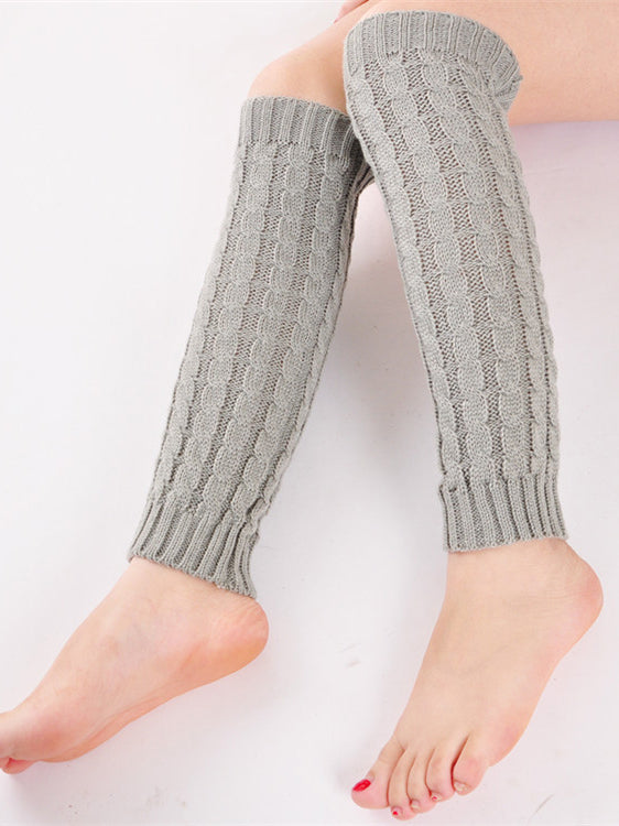 Knitted Acrylic Casual Socks