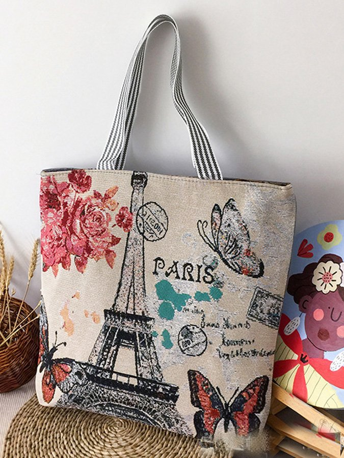 Casual Canvas Shoulder Bags