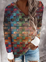 As Picture Vintage Knitted Shirts & Tops