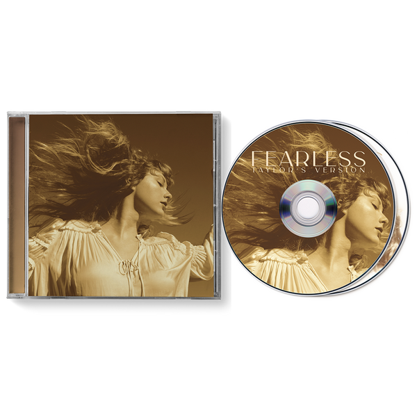 fearless (taylor's version) cd