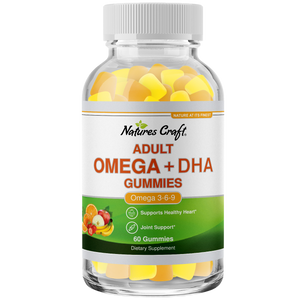 Product image adult omega+dha gummies.