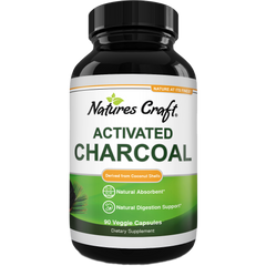 Load image into Gallery viewer, Cleanse and Detox Activated Charcoal Capsules