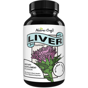 Liver Supplements with Milk Thistle - 90ct