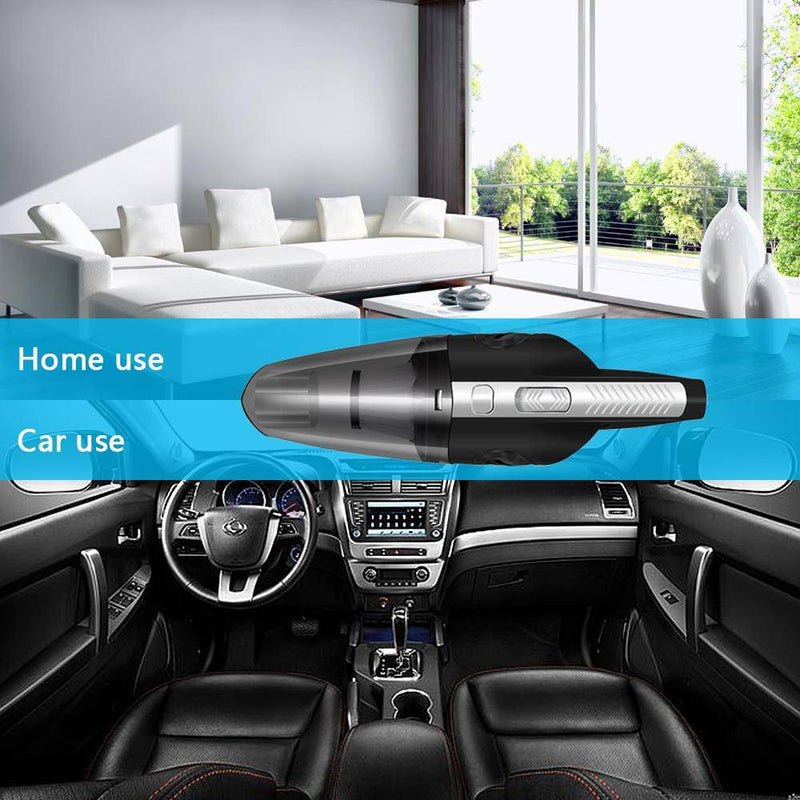 Portable Wireless/Cordless Car Vacuum Cleaner Rechargeable - Gadgets Essential