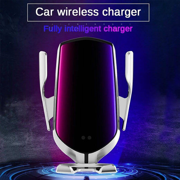 2-In-1 Car Wireless Charger Phone Holder