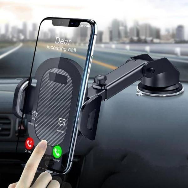SUCKER CAR PHONE HOLDER