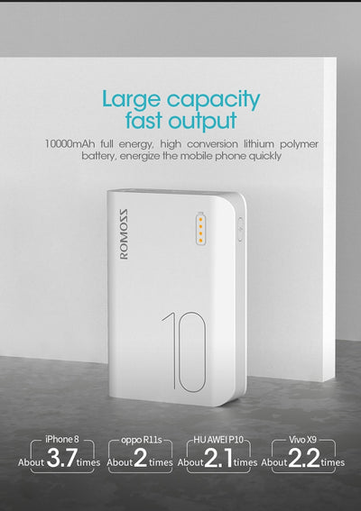 10000mAh Fast Charge Powerbank