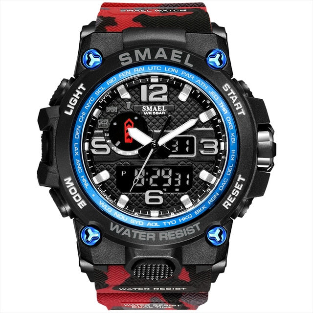 Military LED Quartz Waterproof Wristwatch