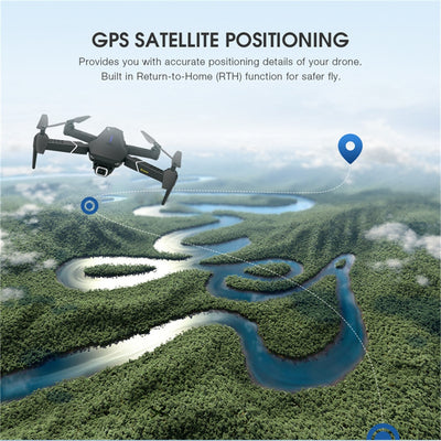 GPS FOLLOW ME WIFI Quadcopter