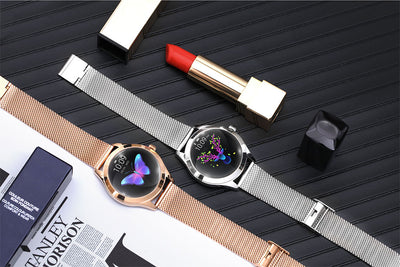 Women Lovely Bracelet Steal Watch