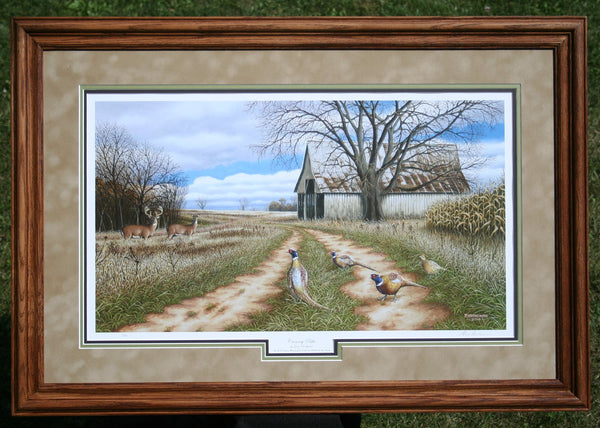 2014-2015 Framed Pheasant's Forever Print of the Year For Sale