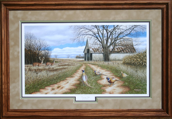 Pheasant's Forever Framed Print of the Year 2014-2015