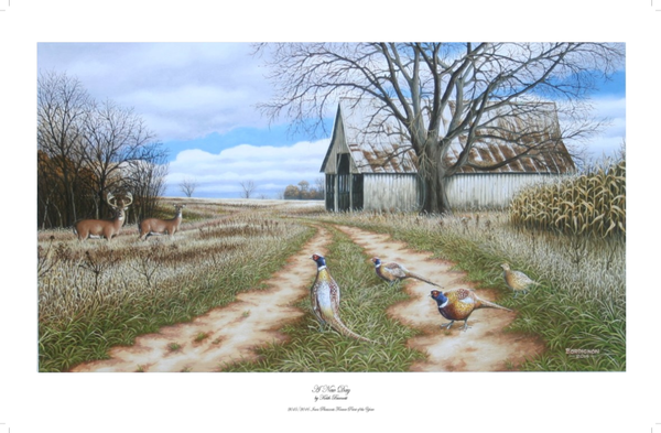 2014-2015 Pheasant's Forever Print of the Year For Sale