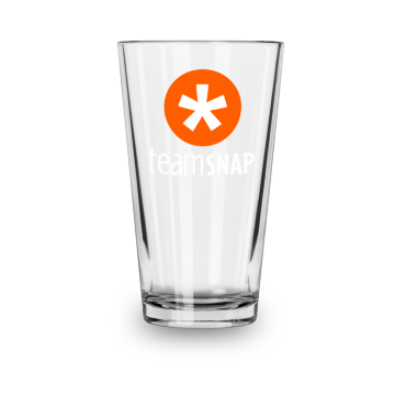 TeamSnap Pint Glass