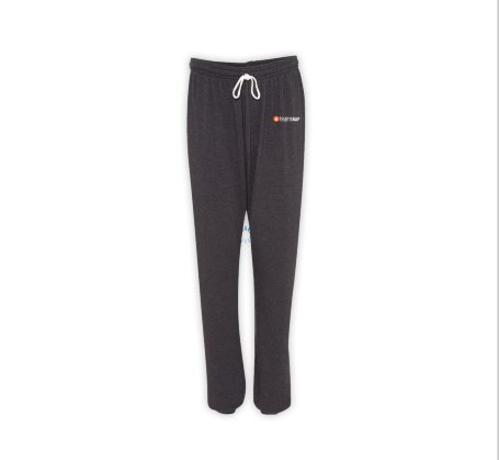 Bella + Canvas Unisex Fleece Pant  (Dark Grey Heather)