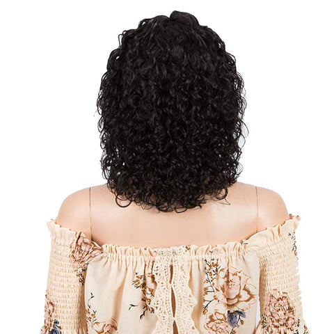 Image of Wavy Part Lace Human Hair Wigs For Black Women MONA Part Lace Wigs