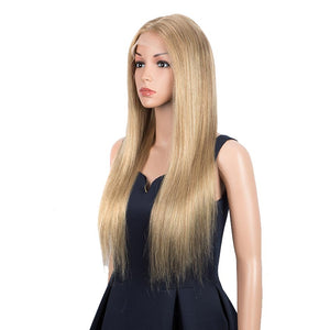 Light Brown Straight Hair 4x4 Lace Wig 150% Density Human Hair Wigs