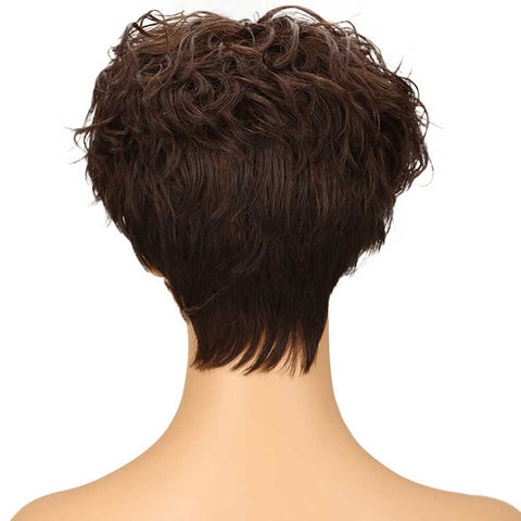 Pixie Cut Wigs 9 inch Short Wig for P4/30 Color