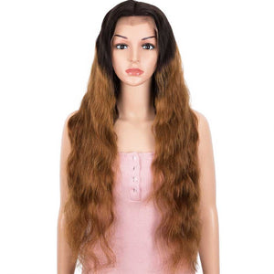13x4 Lace Front Wigs Body Wave Human Hair 150% Density Black To Brown Color