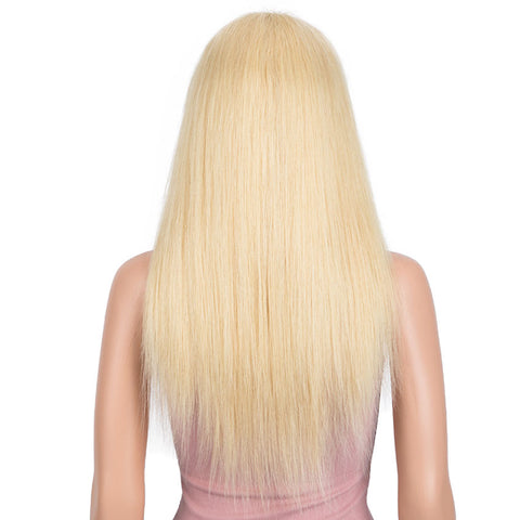 Image of #613 Blonde 13x4 Lace Front Wigs Straight Human Hair Wigs 150% Density
