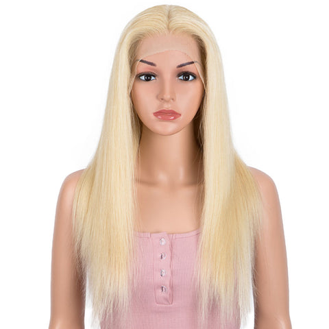 #613 Blonde 13x4 Lace Front Wigs Straight Human Hair Wigs 150% Density