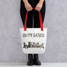 Load image into Gallery viewer, Oh My Gatos! Tote