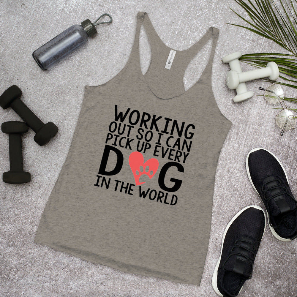 Pick Up Every Dog Womens Tank