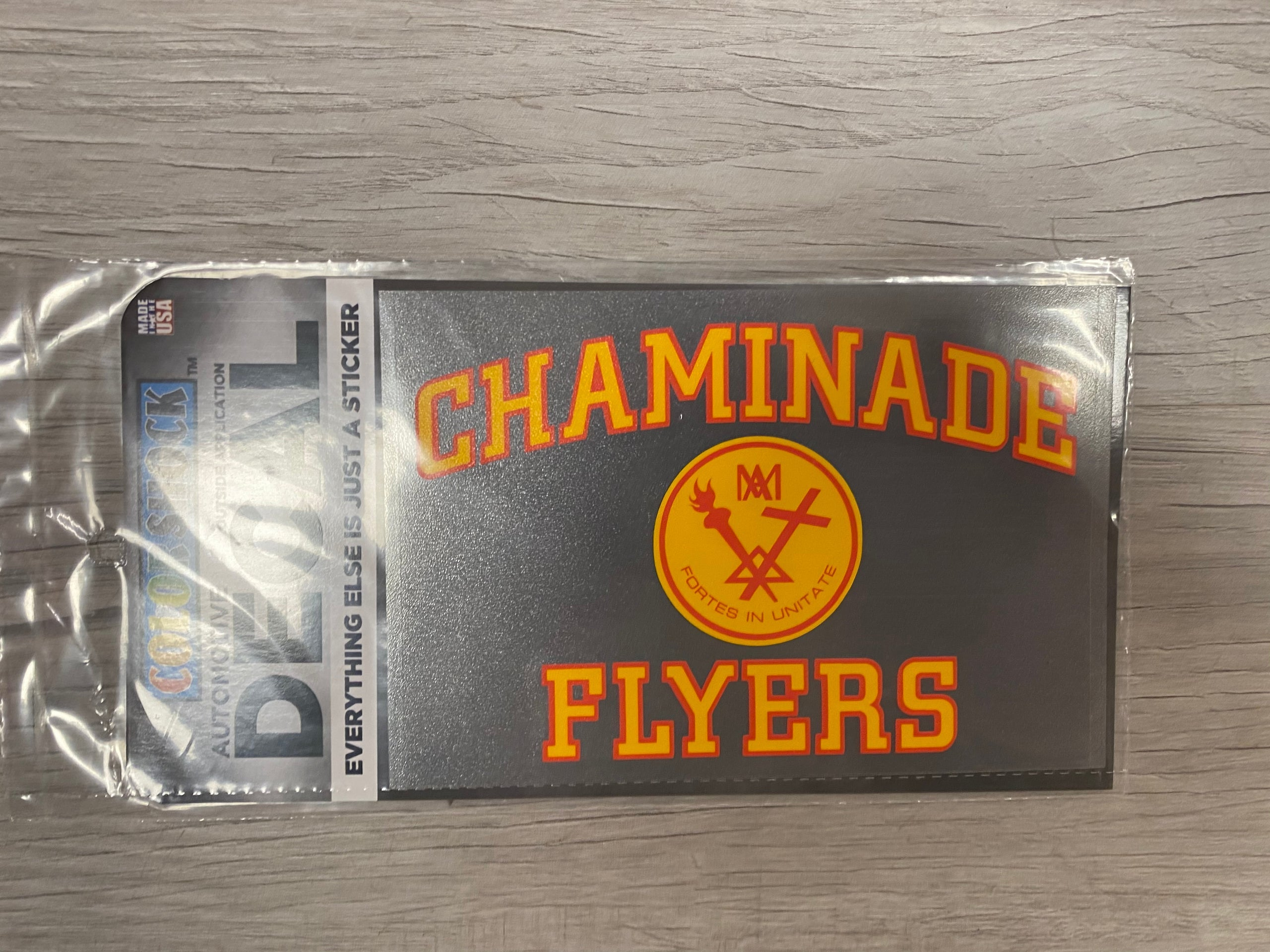 Chaminade Flyers Car Decal