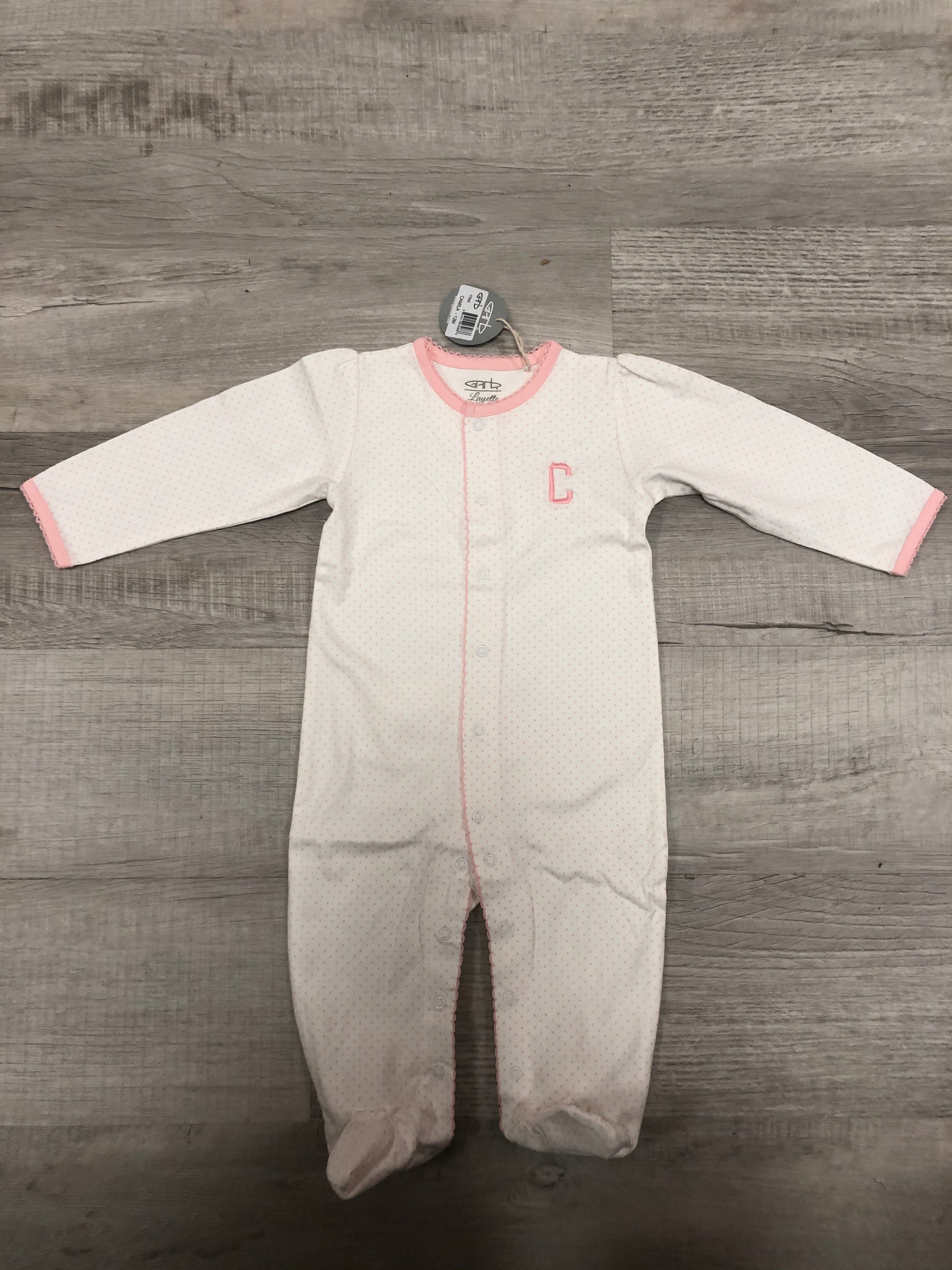 "Pink Onesie with ""C"""