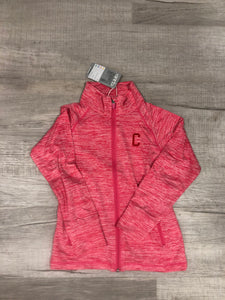 Girls 1/4 Zip with Seal (Youth) - Pink