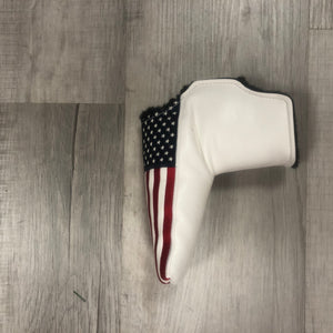 Golf - Putter Cover SnapFit - Stars & Stripes