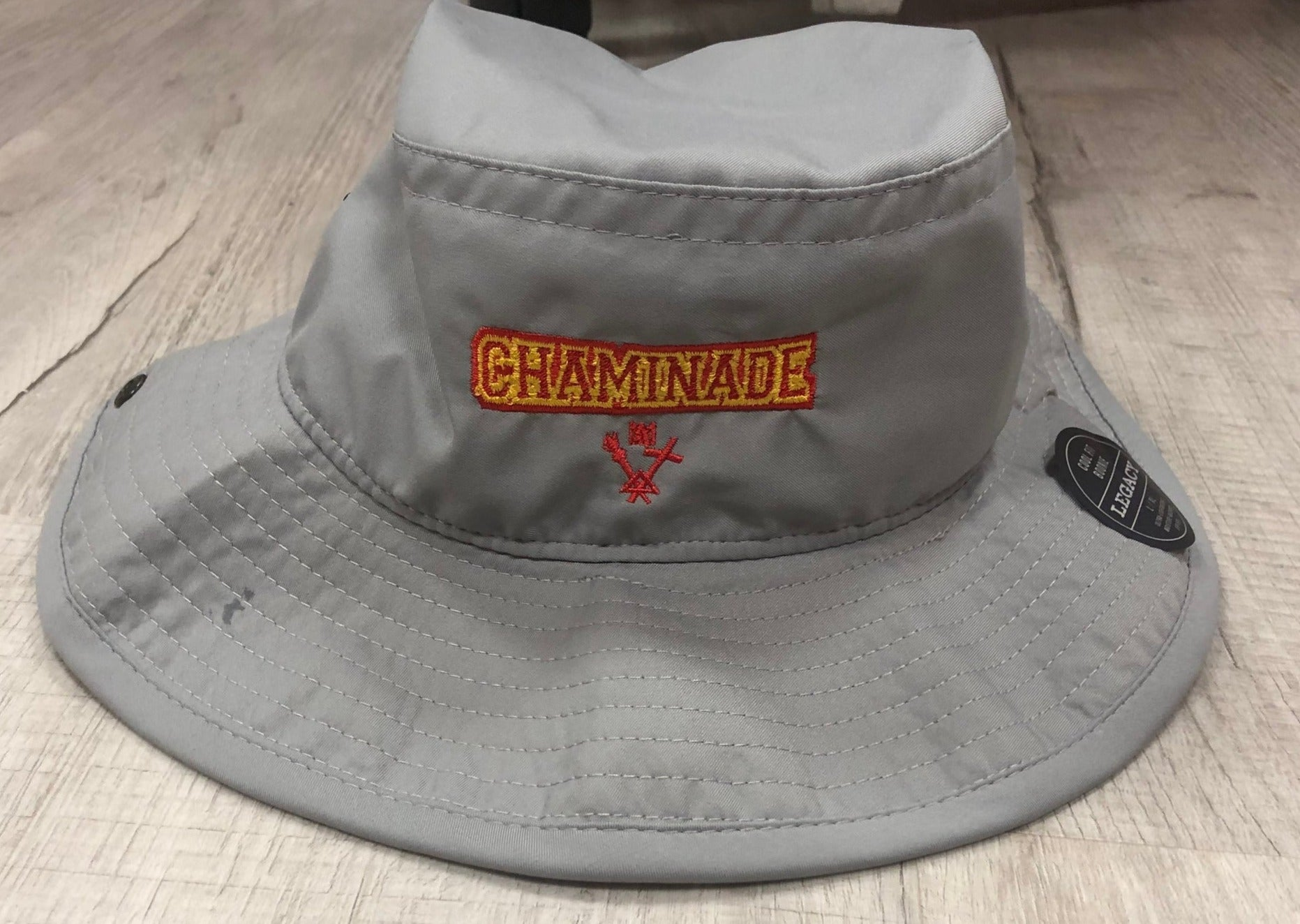 Legacy Grey Bucket Hat