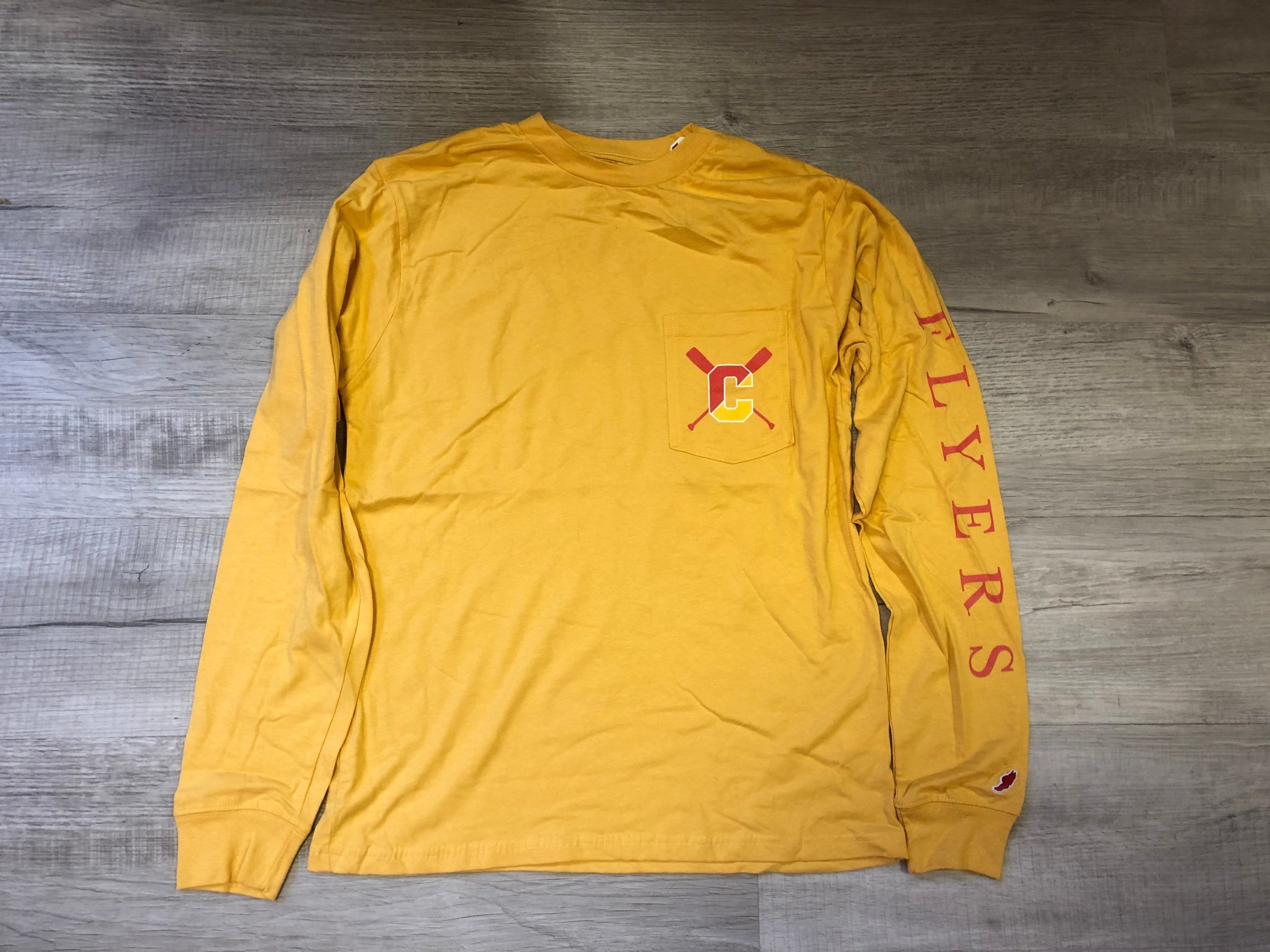 Legacy Crew Long Sleeve Gold T-Shirt