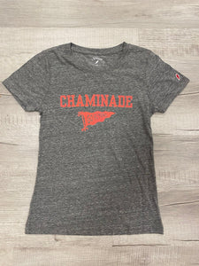 Legacy Women's Grey Pennant T Shirt