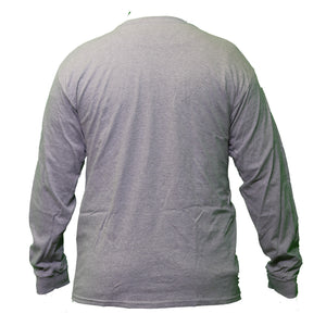 Long Sleeve Gray Tee Shirt