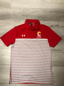 Under Armour Men's Mix Stripe Polo