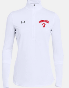 Women's White 1/4 Zip