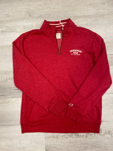 Legacy Sweatshirt 1/4 Zip - Red